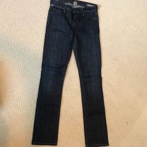 Citizens of Humanity straight leg jean